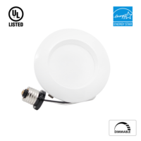 LED Downlight  4 inch  9w  684 lumens  Dimmable  Energy Star certified