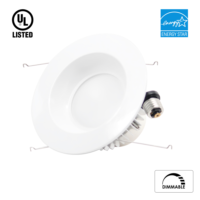 LED Downlight  6 inch  15w  1200 lumens  Dimmable  Energy Star certified