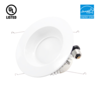 LED Downlight  6 inch  15w  1200 lumens  Energy Star certified-277v