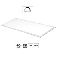 Slim LED Panel Light  2×4  dimmable 40w  3600 lumens  4000K