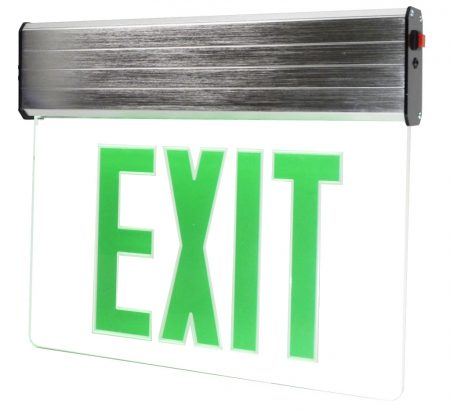 Exit Sign LED Green Letters